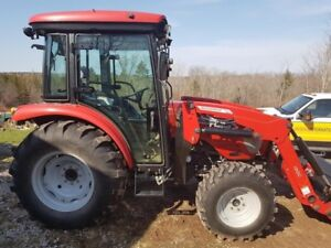 2015 McCormick X1.45C 4WD Cab Tractor, Loader