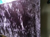 Large purple rug from next
