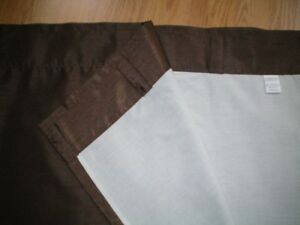 Pair of Lined Drapes