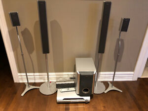 Sony home theatre system w 6 speakers