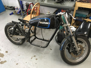 "81 Suzuki GS750 ""Katana"" Frame and components"