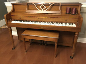 Mason & Risch Piano in excellent condition
