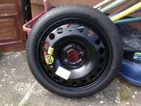 Astra / vectra space saver wheel, never used