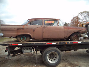 1957 Ford Two Door Post