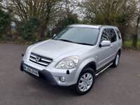 HONDA CRV SPORT 2.0 AUTOMATIC PETROL SILVER 5 DOOR ESTATE 4x4 2006
