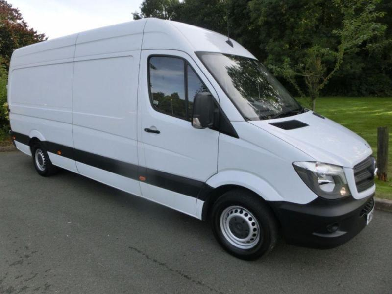 b64a7e4741 WHITE MERCEDES-BENZ SPRINTER 2.1 313 CDI LWB    FROM £215 PER MONTH