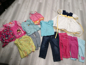 Lots vêtements fille 3 ans