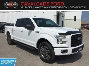 2016 Ford F150 4x4 - Supercrew XLT Sport