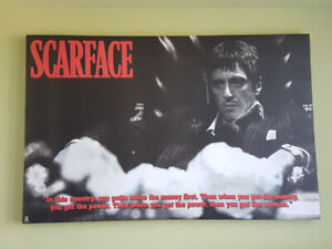 *******Moving sale! Scarface Canvas**********