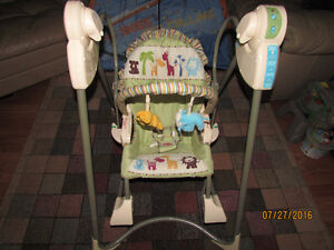 Fisher Price swing with music (3 Stages)