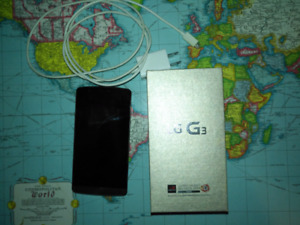 LG G3 Phone with charger