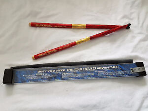 Collectible Hard Rock Cafe red drumsticks