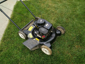 Side Discharge Lawnmower