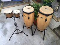 Bongo and conga drums congas.