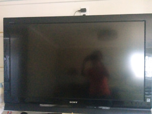 Sony Bravia TV - 46 inches, 1080p - Works perfectly