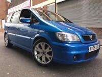 Vauxhall Zafira 2005 2.0i Turbo 16v GSi 5 door 7 SEATER, 1 OWNER, HUGE SPEC
