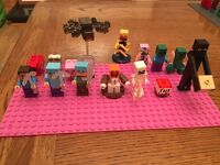Lego Minecraft minifigures Collection