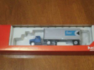 HO scale CP Express & Transport tractor trailer