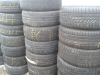 PART WORN TYRES 215/50X17 X3 .225/55X17 X 4 .235/55X17 X 4. £15 or 4 FOR £40