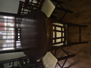 Pub Style Dinning Room Table And Chairs
