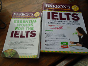 Barron's IELTS with Audio CDs + Essential Words