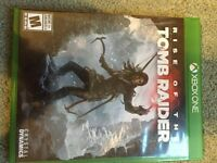 Rise of the Tomb Raider for sale - Xbox one