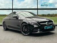 2018 Mercedes-Benz C Class 3.0 C43 V6 AMG G-Tronic+ 4MATIC (s/s) 2dr