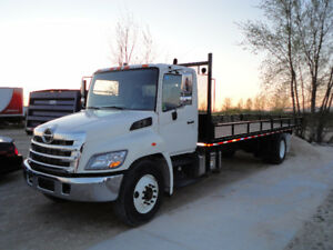 Hino 358 with new 24' Flat deck