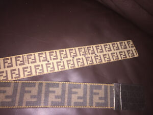 Authentic Double Sided Fendi Belt
