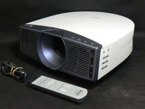 "Sony Cineza HS10 Projector and 106"" Accuscreen Screen"