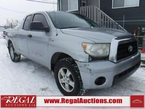 2007 Toyota TUNDRA  4D DOUBLE CAB 4WD