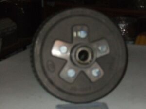 3 trailer brake hubs and also have brake shoe, s for $60.00 each