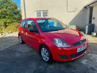 2007 FORD FIESTA 1.25 STYLE EXTREMELY LOW MILES ONLY 34,000 MILES ONE OWNER
