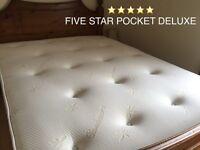 ⭐️⭐️⭐️⭐️⭐️ SUMPTUOUS HOTEL FEEL DELUXE POCKET SPRUNG & LUXURY MEMORY FOAM MATTRESSES