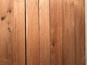 Thick Red Oak Lumber