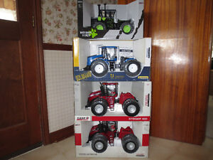 CASE IH STEIGER NEW HOLLAND 4WD TOY FARM TRACTORS