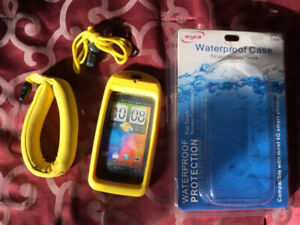 Waterproof case for electronic devices -NEW in package