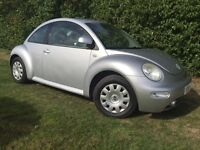 2002 VW BEETLE - LONG MOT - LOTS OF RECEIPTS - RECENT CAMBELT - LOVELY