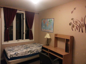 Available may 1st. Large furnished room.10 min walk to MUN