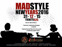 New Year's Eve 2016 - Madmen Style