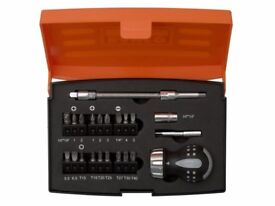 Bahco 808050S22 Stubby Screwdriver Drill bit Set Stocking filler gift for Xmas