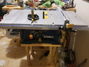 Rona Table Saw, works perfect need gone.