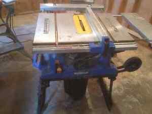 Mastercraft Portable Table Saw, 15A