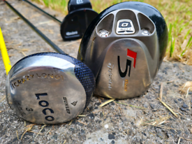 Various golf ⛳clubs