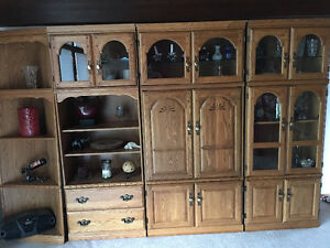 5 section cabinet