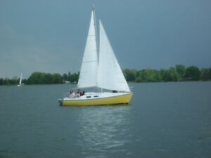 22ft Sail Boat - good Condition but has to go..so CHEAP