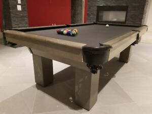 Custom pool tables - Locally made - order now for Christmas
