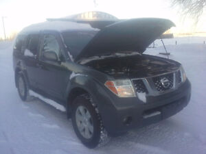 2007 Nissan Pathfinder LE LOADED!! NAV--DVD
