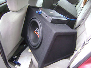 MTX subwoofer speaker and box