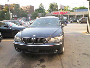 2006 BMW 750I, no accident, navigation, bluetooth.